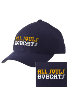 All Souls School Bobcats Embroidered Pro Model Fitted Cap