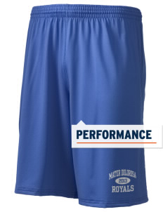 "Mater Dolorosa Elementary School Royals Holloway Men's Performance Shorts, 9"" Inseam"