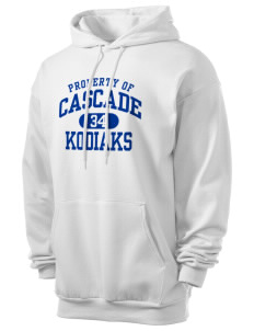 Cascade Middle School Kodiaks Men's 7.8 oz Lightweight Hooded Sweatshirt