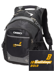 Bell Elementary School Bulldogs Embroidered OGIO Fugitive Backpack