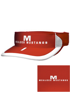 McAlder Elementary School Mustangs Embroidered M2 Sideline Adjustable Visor