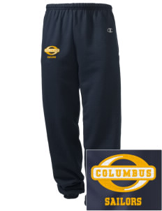Columbus High School Sailors Embroidered Champion Men's Sweatpants