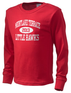 Mountlake Terrace Elementary School Little Hawks  Kid's Long Sleeve T-Shirt