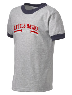 Mountlake Terrace Elementary School Little Hawks Kid's Ringer T-Shirt