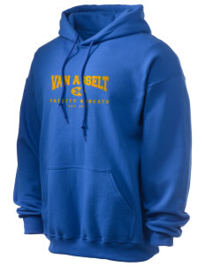 Van Asselt Bobcats Ultra Blend 50/50 Hooded Sweatshirt