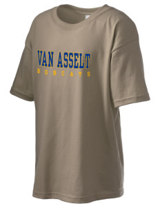 Van Asselt Bobcats Kid's 6.1 oz Ultra Cotton T-Shirt