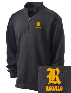 Regina High School Regals Embroidered Nike Men's Golf Heather Cover Up