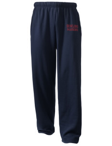 Dowling Catholic High School Maroons  Holloway Arena Open Bottom Sweatpants