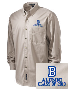 Brighton Elementary School Dragons Embroidered Tall Men's Twill Shirt