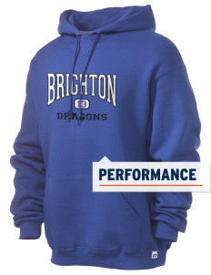 Brighton Elementary School Dragons Russell Men's Dri-Power Hooded Sweatshirt