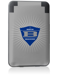 Brighton Elementary School Dragons Kindle Keyboard 3G Skin