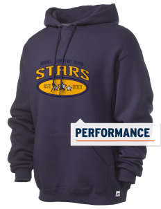 Roxhill Elementary School Stars Russell Men's Dri-Power Hooded Sweatshirt