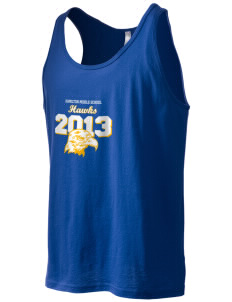 Hamilton Middle School Hawks Men's Jersey Tank