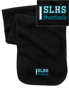 Spanaway Lake High School Sentinels Embroidered Fleece Scarf