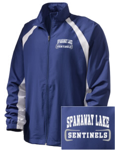 Spanaway Lake High School Sentinels  Embroidered Men's Full Zip Warm Up Jacket