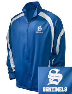 Spanaway Lake High School Sentinels Embroidered Holloway Men's Tricotex Warm Up Jacket