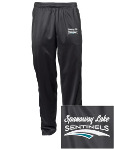Spanaway Lake High School Sentinels Embroidered Men's Tricot Track Pants