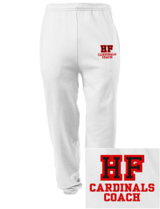 Holy Family School Cardinals Embroidered Men's Sweatpants with Pockets