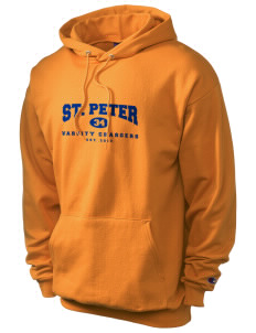Saint Peter School Chargers Champion Men's Hooded Sweatshirt