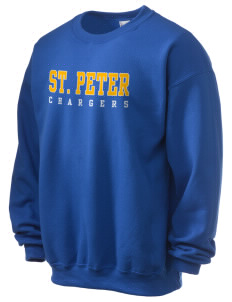 Saint Peter School Chargers Ultra Blend 50/50 Crewneck Sweatshirt