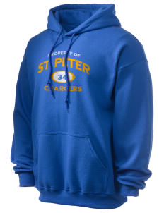 Saint Peter School Chargers Ultra Blend 50/50 Hooded Sweatshirt