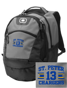 Saint Peter School Chargers Embroidered OGIO Rogue Backpack