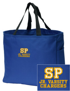 Saint Peter School Chargers Embroidered Essential Tote