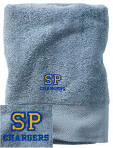 Saint Peter School Chargers Embroidered Zero Twist Resort Towel
