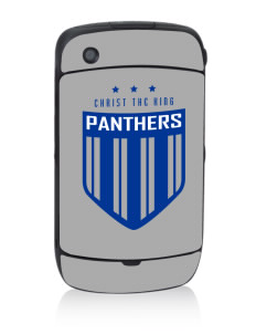 Christ The King School Panthers Black Berry 8530 Curve Skin