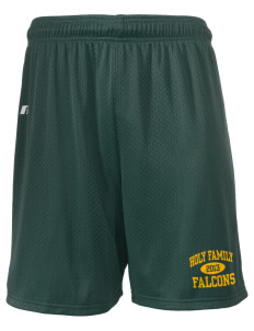 "Holy Family School Falcons  Russell Men's Mesh Shorts, 7"" Inseam"