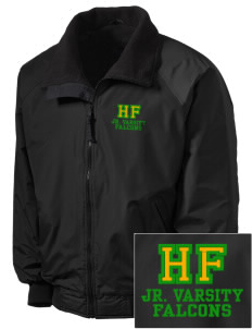Holy Family School Falcons Embroidered Tall Men's Challenger Jacket