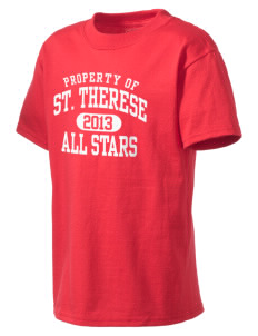 Saint Therese School All Stars Kid's Lightweight T-Shirt