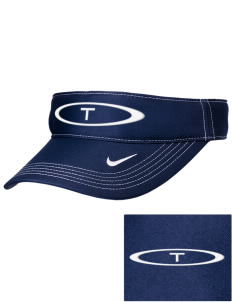 Trinity Catholic School Trojans Embroidered Nike Golf Dri-Fit Swoosh Visor