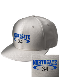 Northgate Elementary School Eagles  Embroidered New Era Flat Bill Snapback Cap