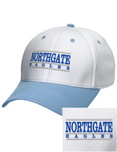 Northgate Elementary School Eagles Embroidered New Era Snapback Performance Mesh Contrast Bill Cap