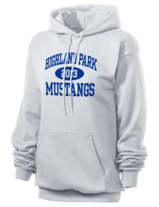 Highland Park Elementary School Mustangs Unisex 7.8 oz Lightweight Hooded Sweatshirt