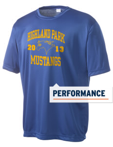 Highland Park Elementary School Mustangs Men's Competitor Performance T-Shirt