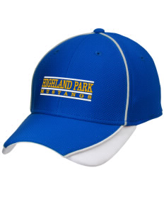 Highland Park Elementary School Mustangs Embroidered New Era Contrast Piped Performance Cap