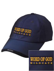 Word Of God School Wildcats Embroidered OGIO X-Over Cap
