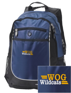 Word Of God School Wildcats Embroidered OGIO Carbon Backpack