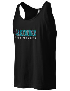 Lakeridge Elementary School Orca Whales Men's Jersey Tank