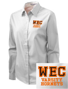 West End Catholic School Hornets Embroidered Women's Easy-Care Shirt