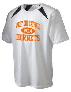 West End Catholic School Hornets Holloway Men's Fan Gear T-Shirt