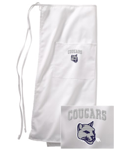 Bois Central Catholic Elementary Cougars Embroidered Full Bistro Bib Apron