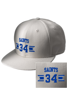 Saint Philip Neri School Saints  Embroidered New Era Flat Bill Snapback Cap