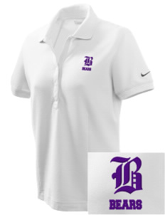 Hazlewood Elementary School Bears Embroidered Nike Women's Pique Golf Polo