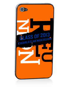 Charles Henderson Middle School Trojans Apple iPhone 4/4S Skin
