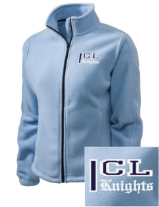 Christian Life School Knights Embroidered Women's Fleece Full-Zip Jacket