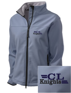 Christian Life School Knights Embroidered Women's Glacier Soft Shell Jacket