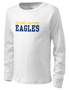 Victory Baptist Academy Eagles  Kid's Long Sleeve T-Shirt